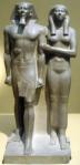 تمثال منكاورع وزوجته